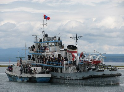 Sukhbaatar III - Run Aground Lake Khovsgol Nurr