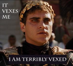 vexed